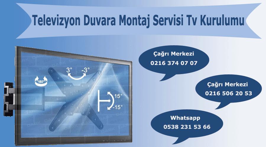 Televizyon Duvara Montaj Servisi Tv Kurulumu