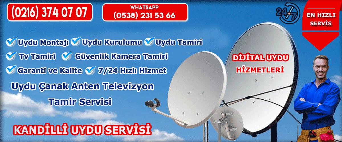 kandilli uydu servisi uydu çanak anten tamir hizmetleri dijitaluydu.org