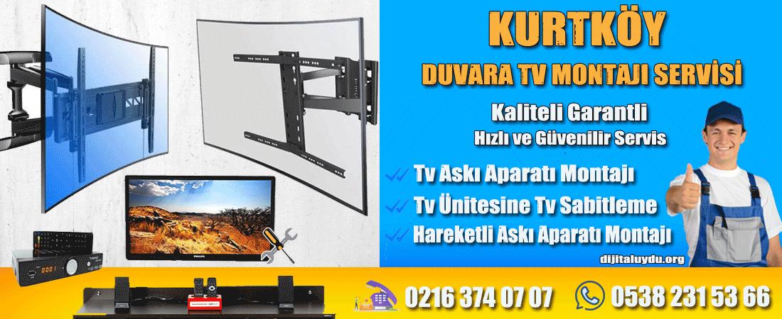 kurtköy televizyon duvara montaj servisi dijitaluydu.org